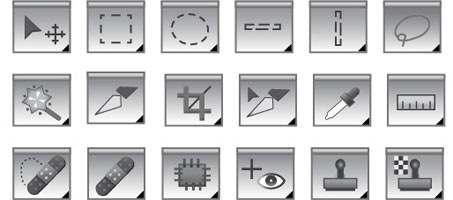 Photoshop Tool Icons