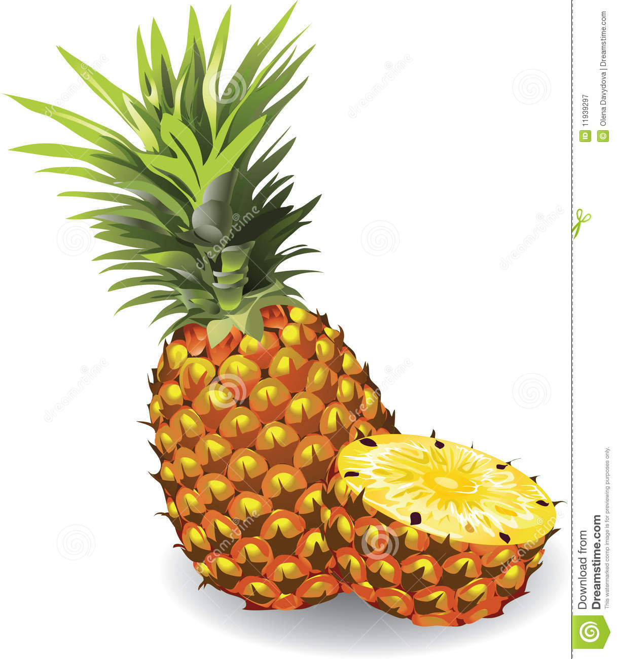14 Free Pineapple Vector Graphic Design Images - Pineapple ...