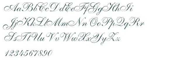 11 Pretty Script Fonts Images - Pretty Cursive Tattoo ...