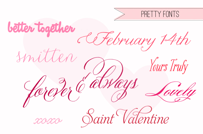 11 Pretty Script Fonts Images