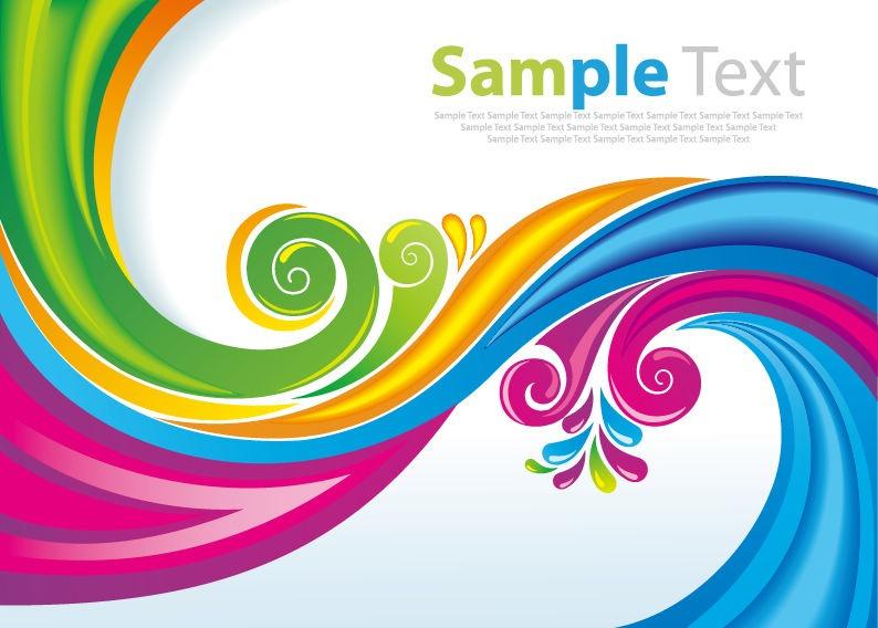 14 Rainbow Vector Art Images
