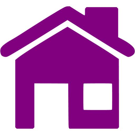 13 Program Icon House With Purple Images