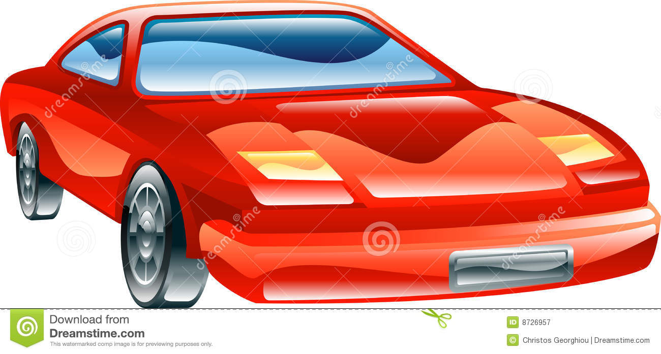 Red Sports Car Icon