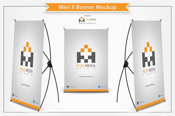 Retractable Banner Mockup
