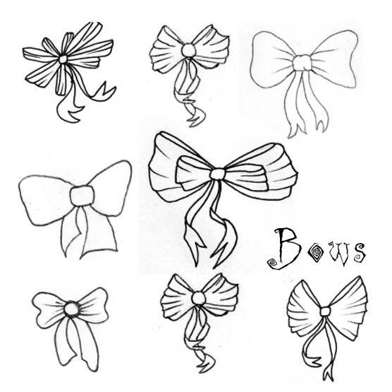15 Photoshop Bow Brushes Images