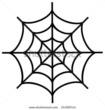7 Spider Web Vector Images Spider Web Vector Art Black