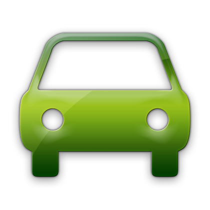 Vehicle Green Truck Icon