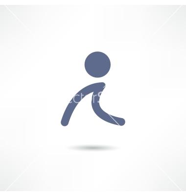 Walk Icon Vector