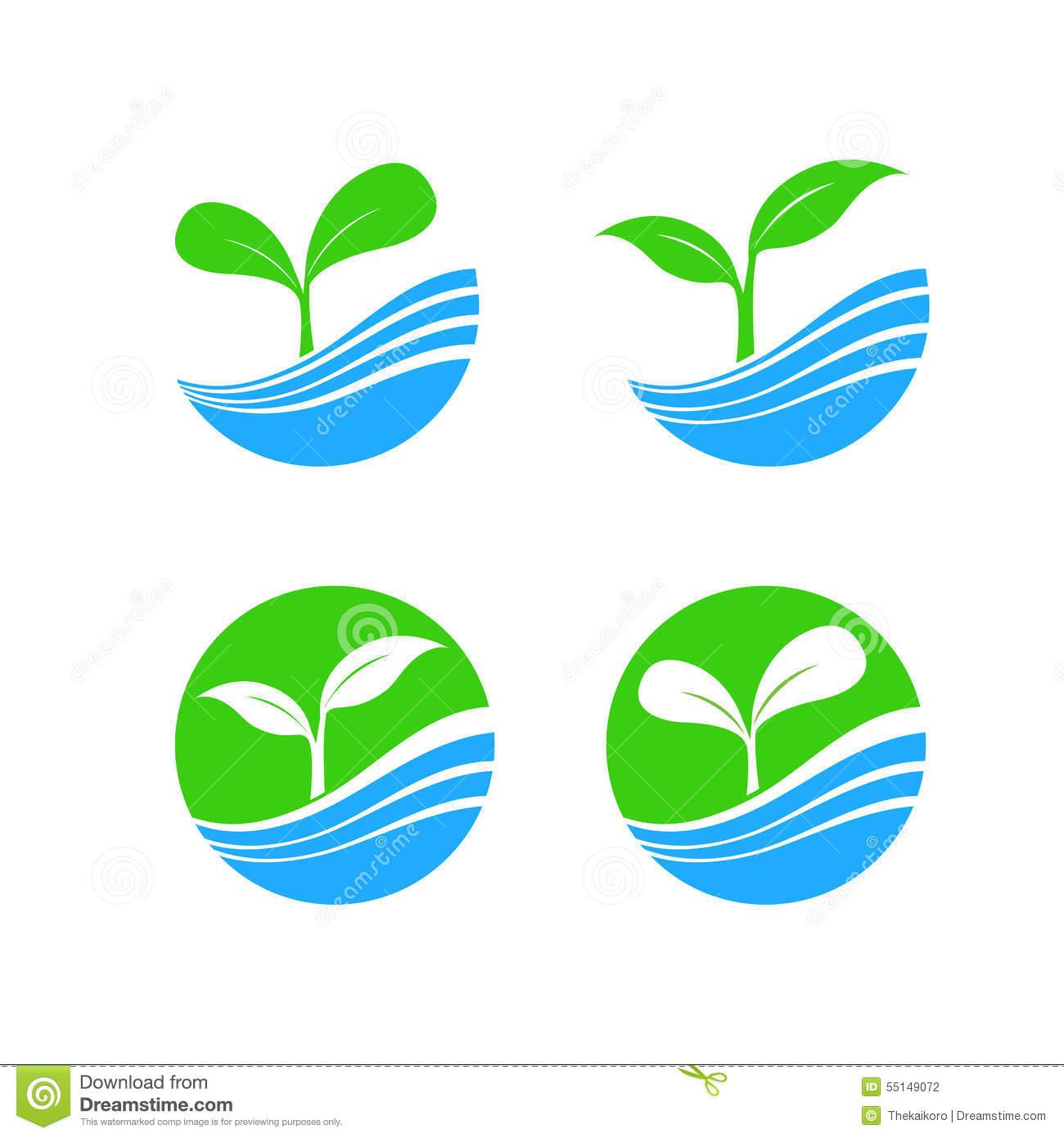 Water Element Symbol Circle S