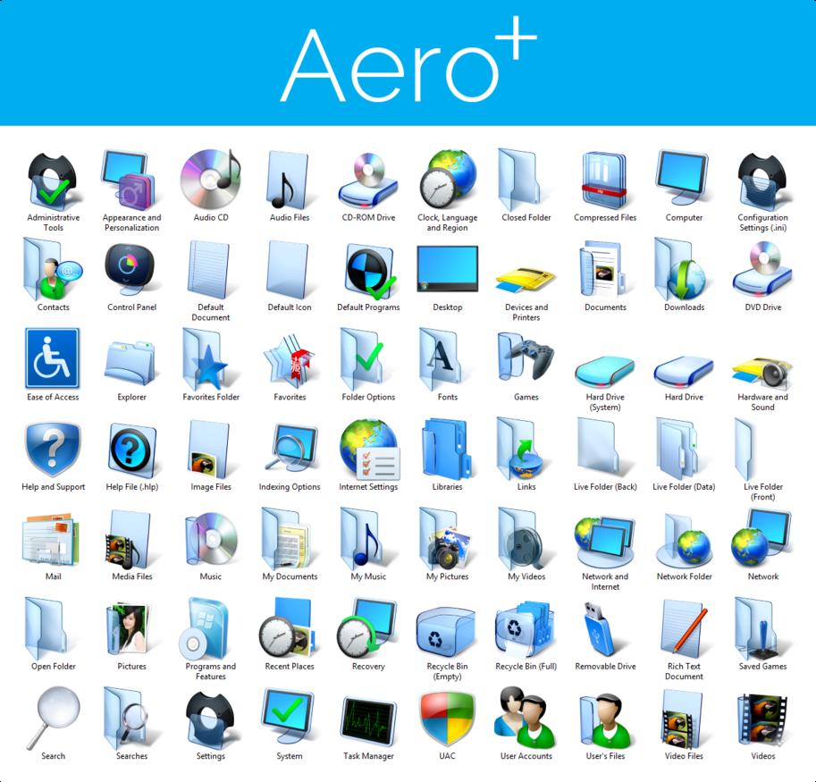 Windows 8.1 Icon Pack
