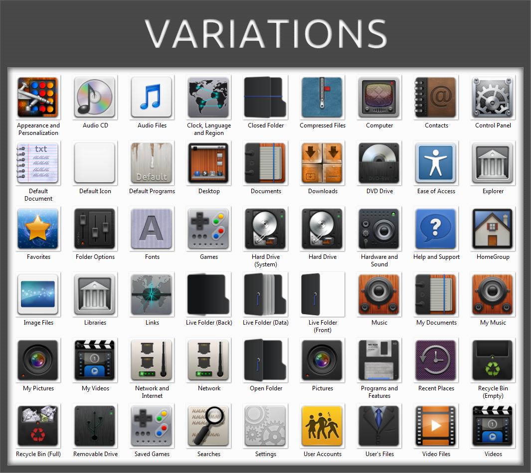 Windows 8 Icon Pack