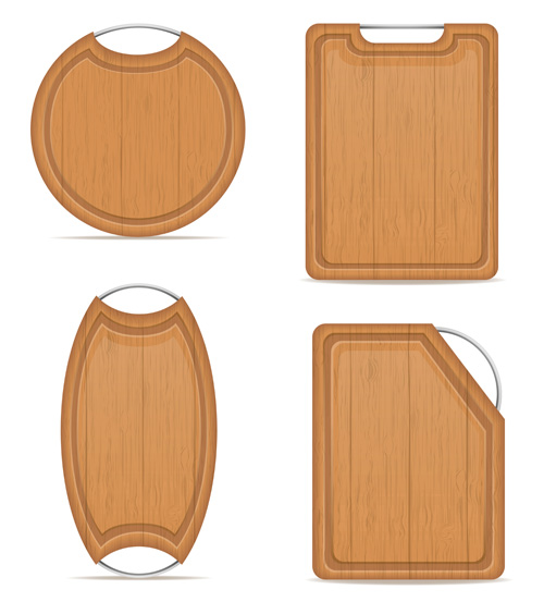 10 Cutting Board Designs Vector Images