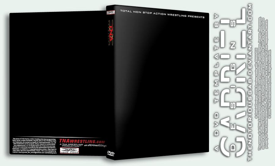 WWE DVD Template deviantART