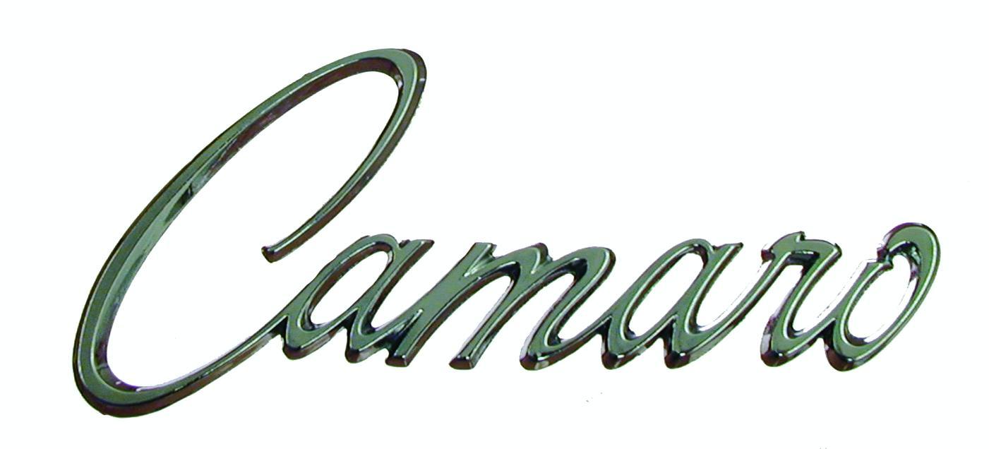 1968 Camaro Emblem Placement