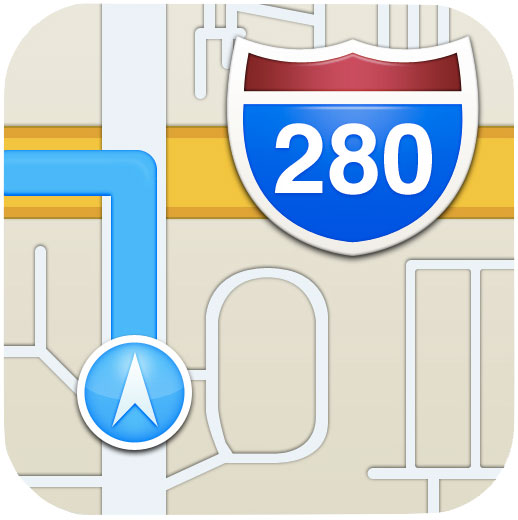 12 Apple Maps Icon Images