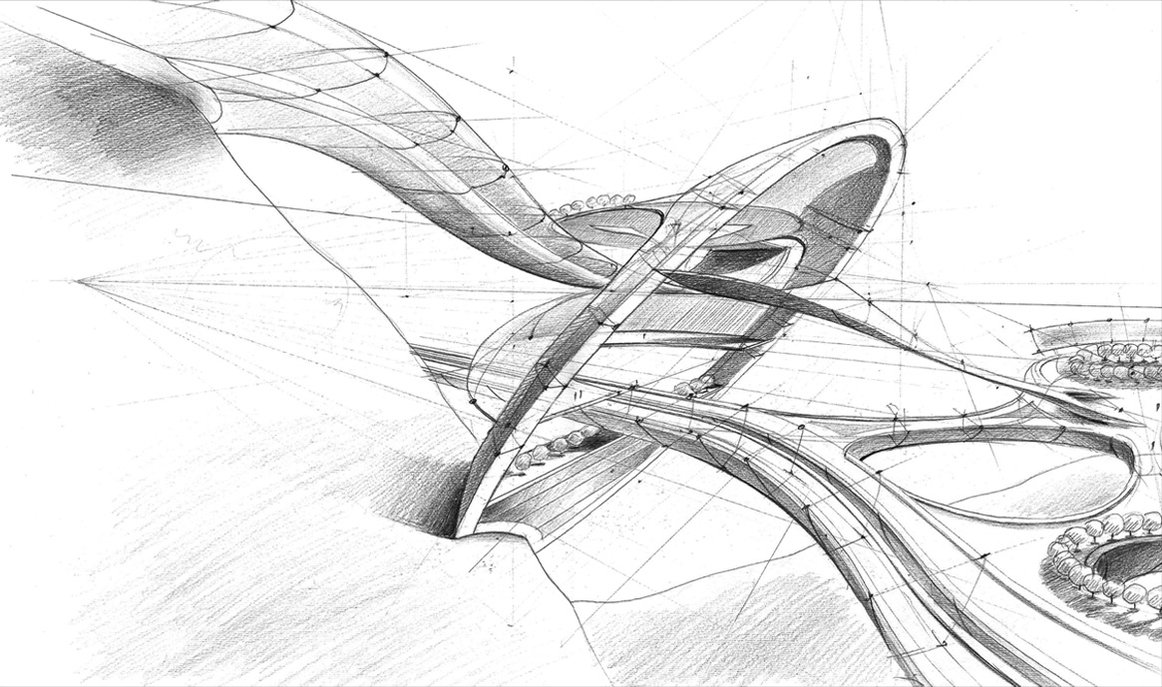 13 Architecture Design Sketches Images
