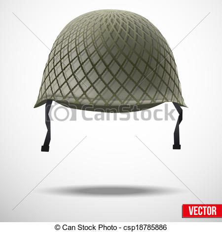 Army Military Helmet Drawing