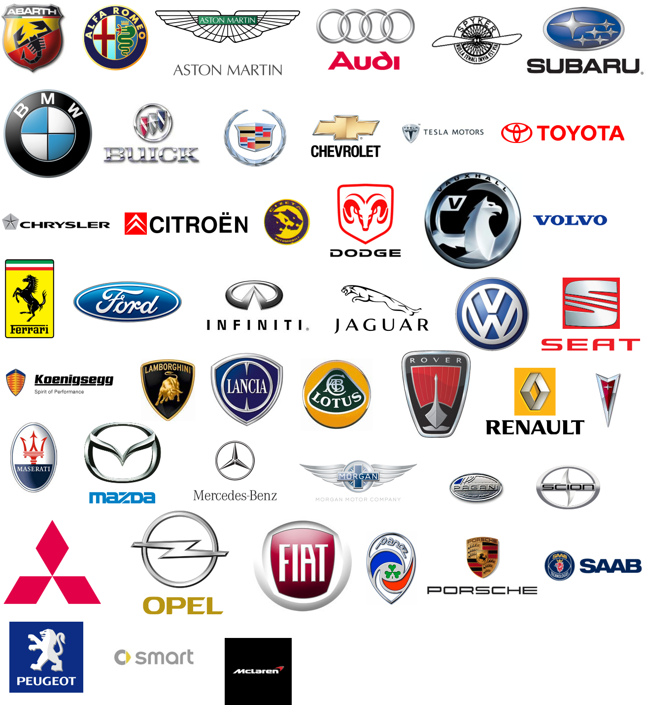 Car Brands Starting With P >> 18 Company S Of Auto Part Icons Images Auto Parts Company