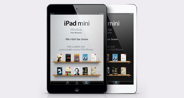 12 Safari IPad Mini PSD Images