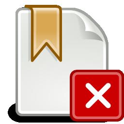 Bookmark Icon Missing