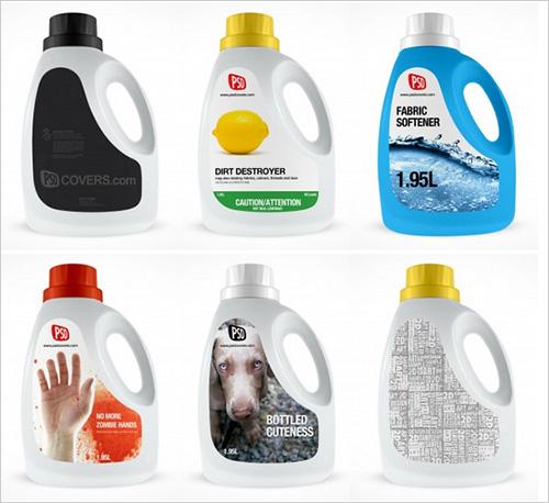 Bottle Mockup Psd Free