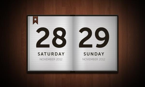 11 Flip Calendar Vector Images