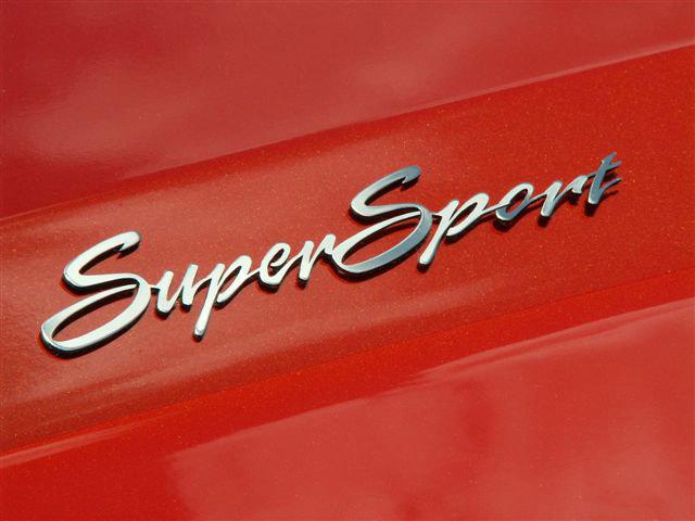 Camaro Super Sport Emblems