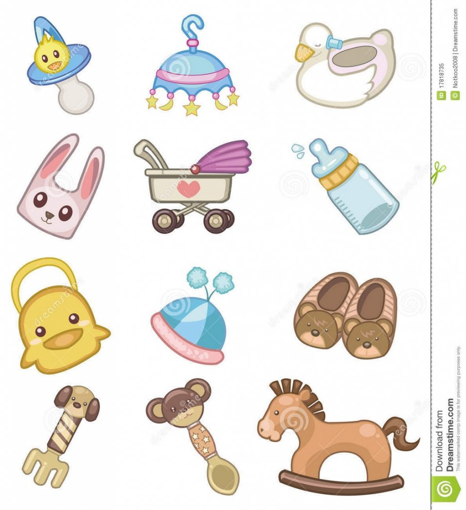 Cartoon Baby Girl Toys