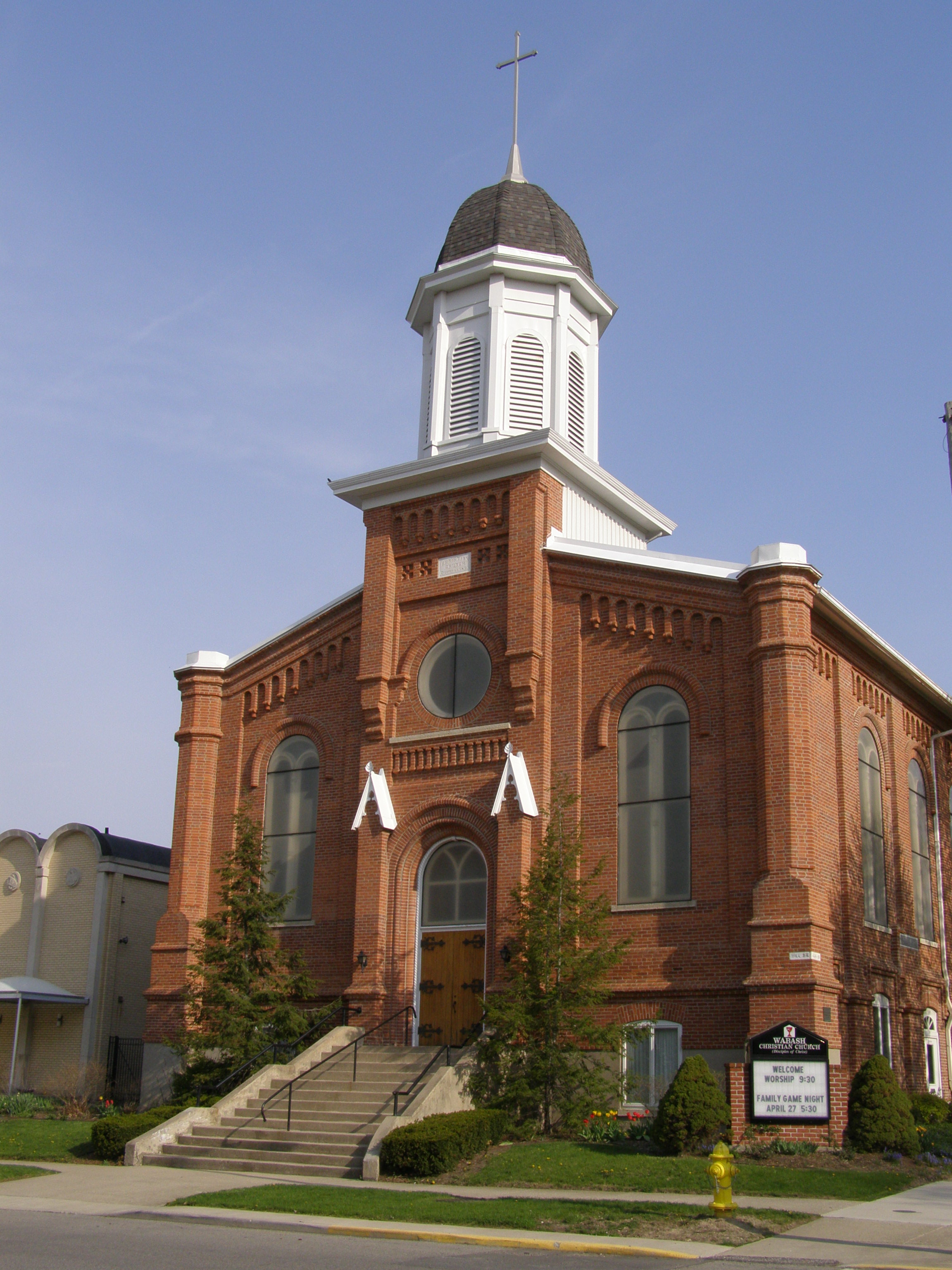 Christian Church Wabash Indiana