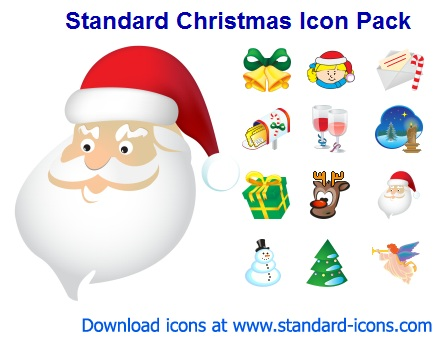 12 Christmas Icons For Windows 7 Images