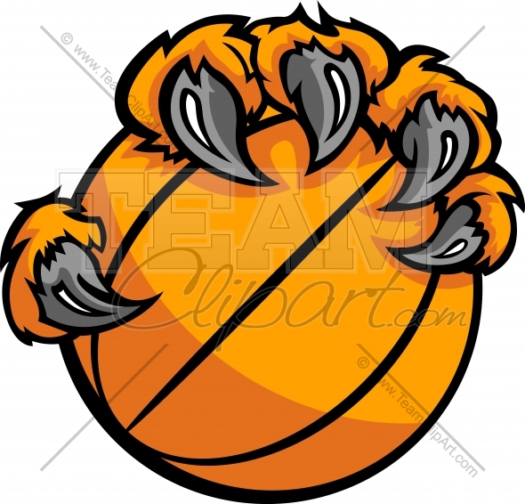 16 Basketball Vector Art Claws On Images