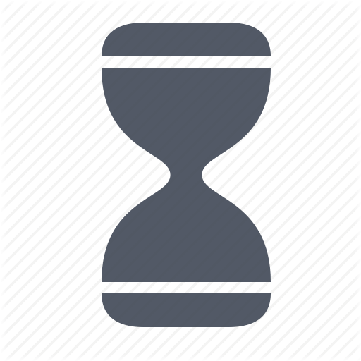 Computer Hourglass Icon