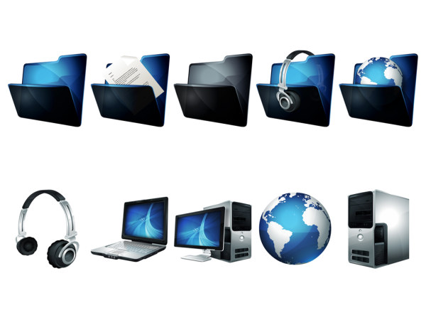 8 Computer Operating System Icon Images