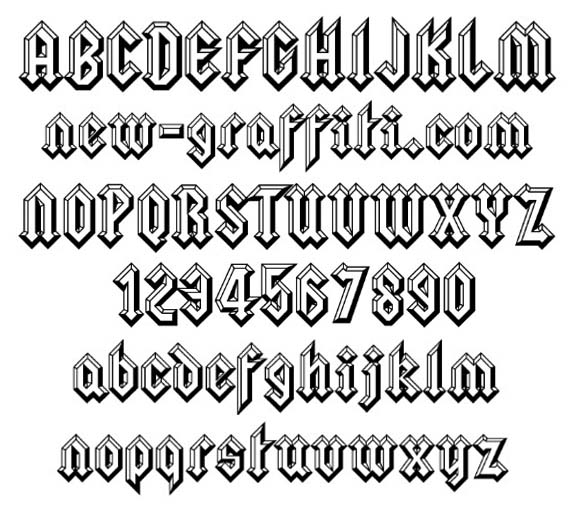 14 Cool Fonts AZ Images - Cool Hand Drawn Letter Fonts ...