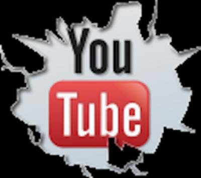 Cracked YouTube Logo