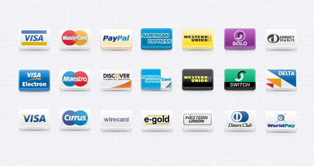 6 Payment Method Icons Images
