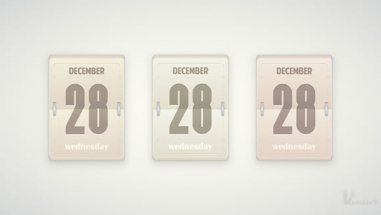 Daily Flip Calendar