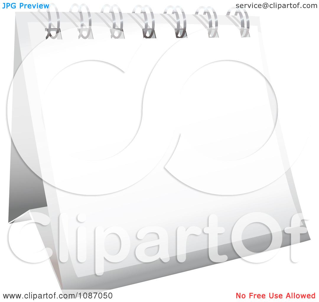 Desk Flip Calendar Clip Art