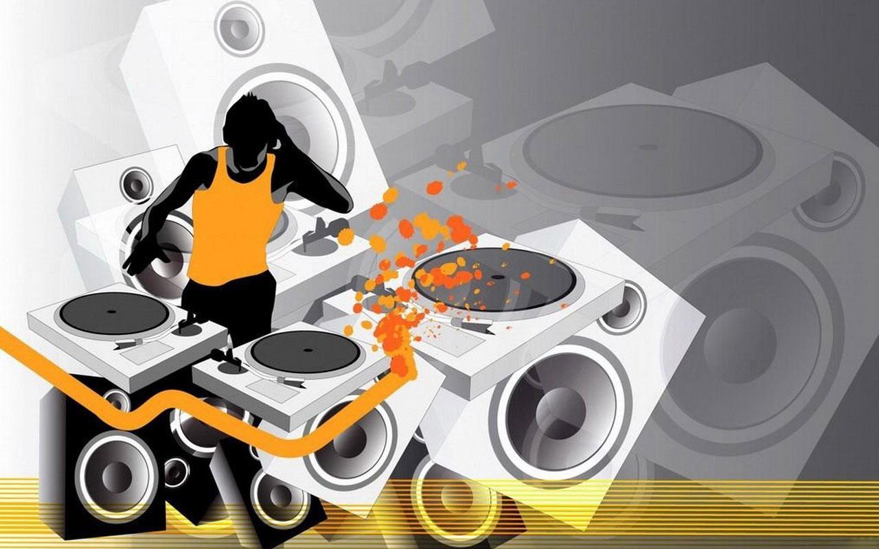 14 DJ Vector Art Images