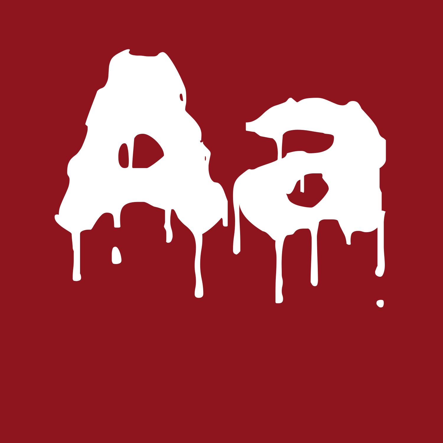 Dripping Letters Font