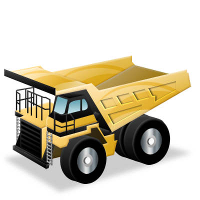 16 Haul Truck Icon Images