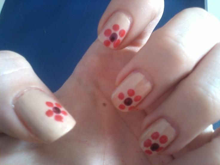 Easy Nail Polish Designs Flowers