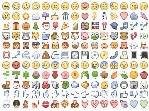 16 Face Emoticons Copy And Paste Images