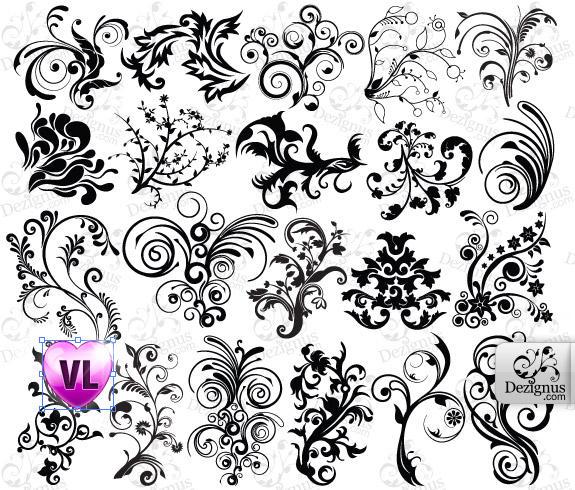 Collections of Photoshop Stencil Brushes for Download