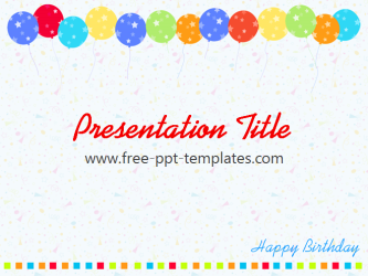 free birthday templates - gse.bookbinder.co, Powerpoint templates
