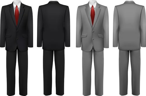 Free Download PSD Men Suits Pictures