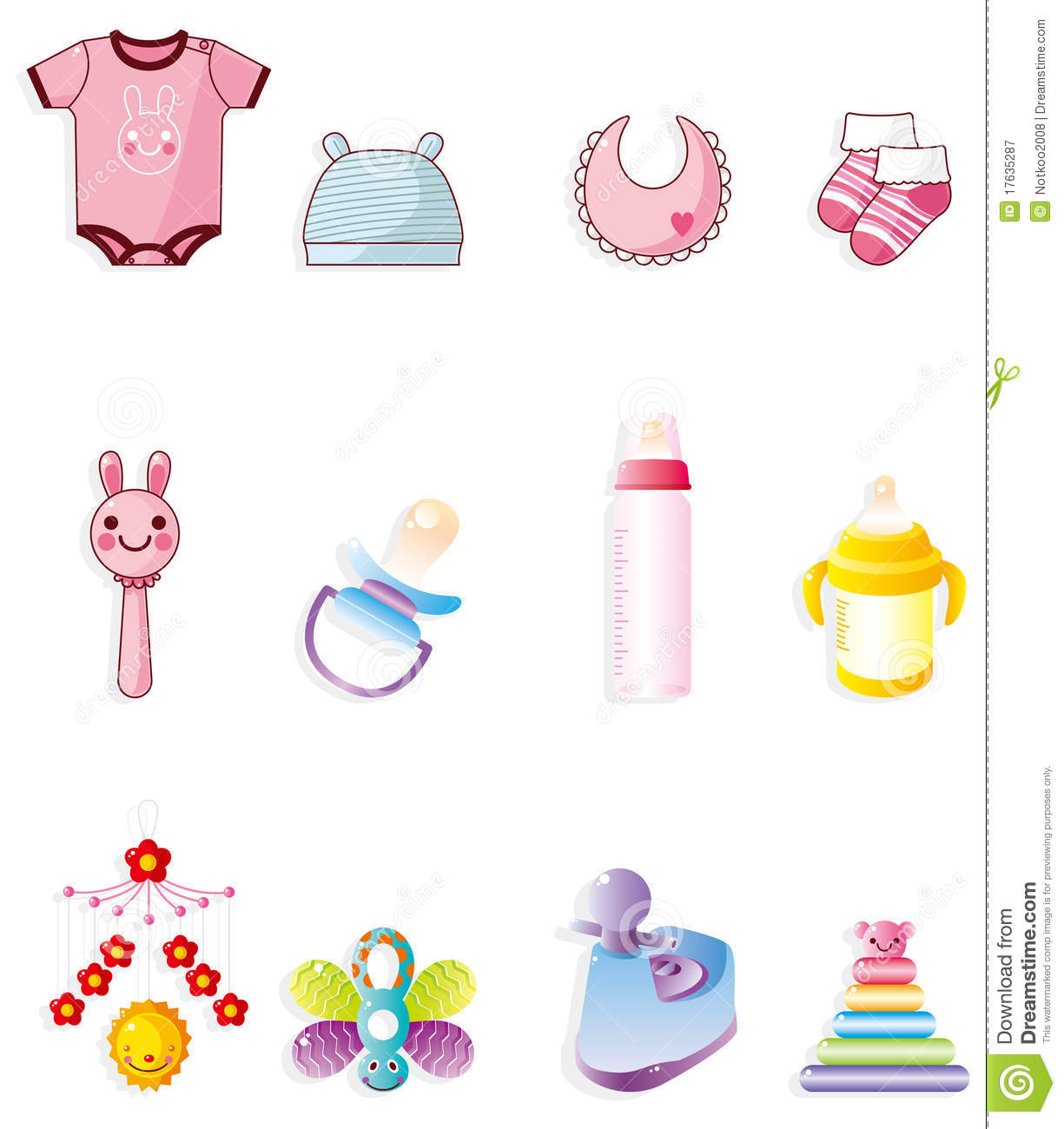 Free Images of Cartoon Babies