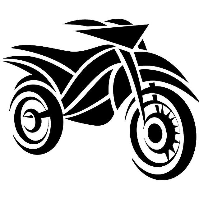 Free Motorcycle Vector Clip Art