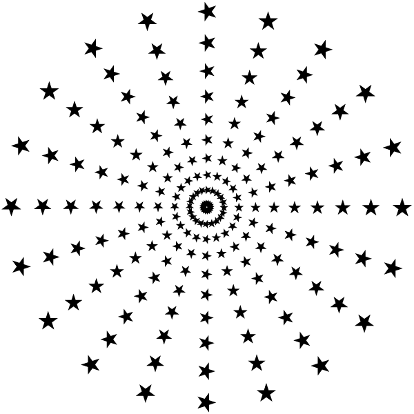 14 Star Vector Pattern Images