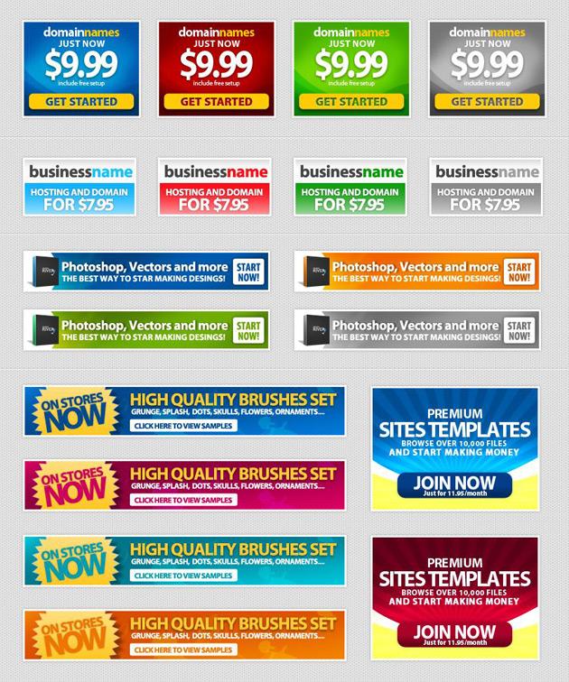 Free Website Banner Designs